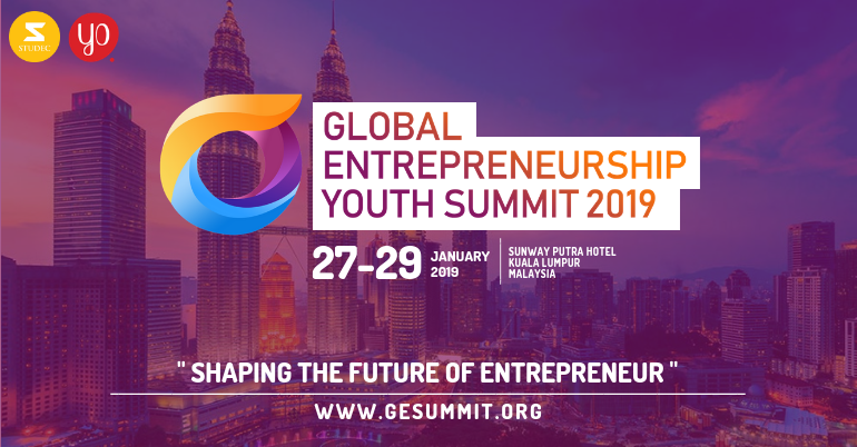 Partially Funded Global Entrepreneurship Youth Summit in