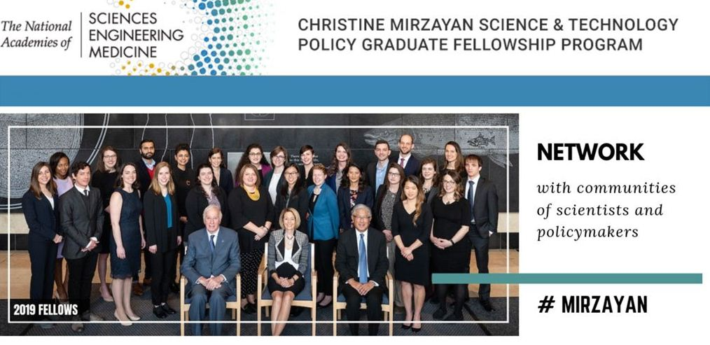 Christine Mirzayan Science and Technology Policy Graduate Fellowship