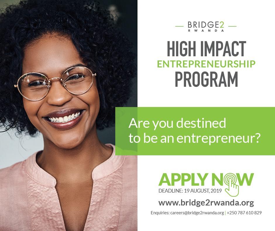 Bridge2Rwanda Fully-Funded Entrepreneurship Development Program